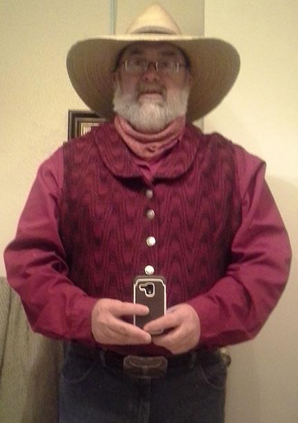 Joey's western vest