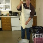 Linda Little's natural dyeing class.
