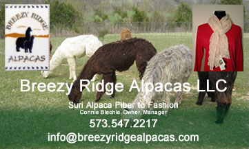 Breezy Ridge Alpacas LLC, 573.547.2217
